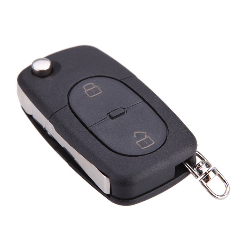 LLAVE PLEGABLE FUNDA MANDO 2 BOT AUDI A2, A3, A4, A6, A8, TT...