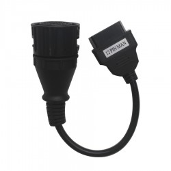 ADAPTADOR 12 PIN MAN A OBD 16 PIN