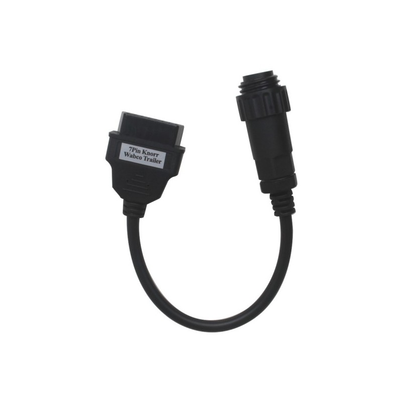ADAPTADOR 7 PIN KNORR WABCO TRAILER A OBD 16 PIN