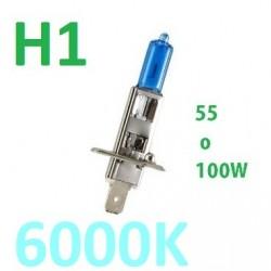 BOMBILLA H1 HALOGENA 55-100W EFECTO XENON