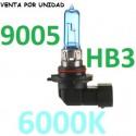BOMBILLA HALOGENA HB3 9005 6000K EFECTO XENON