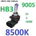 BOMBILLA HALOGENA HB3 9005 8500K DE 55/100W
