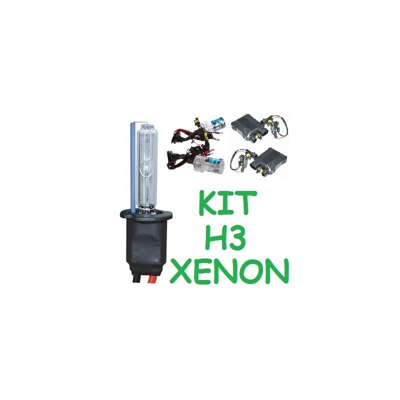 KIT XENON H3 PARA 2 FAROS