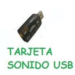 tarjeta de sonido externa Virtual USB