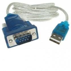 ADAPTADOR DE USB A RS232 SERIAL DB9