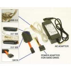 KIT COMPLETO IDE SATA A USB