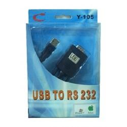 ADAPTADOR DE USB A PUERTO COM RS232