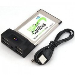TARJETA PCMCIA CON 4 USB.