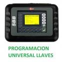 MAQUINA Profesional PROGRAMACION DE LLAVES SBB Silca Inmovilizador Multi-Marca Coches