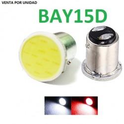 BAY15D LED 2 POLOS COB