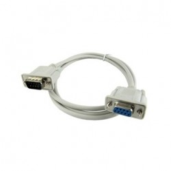 CABLE SERIE MACHO HEMBRA RS232