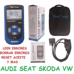 MAQUINA DIAGNOSIS GRUPO VW VAG AUDI SEAT SKODA VOLKSWAGEN