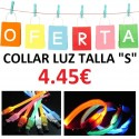 COLLAR LUZ LED TALLA S