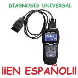 MAQUINA DIAGNOSIS EN ESPAÑOL UNIVERSAL MOTOR COCHES Y FURGONETAS