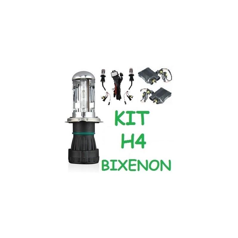 KIT 2 H4 BIXENON 35W - 55W BI-XENON BI XENON COCHE MOTO FURGONETA