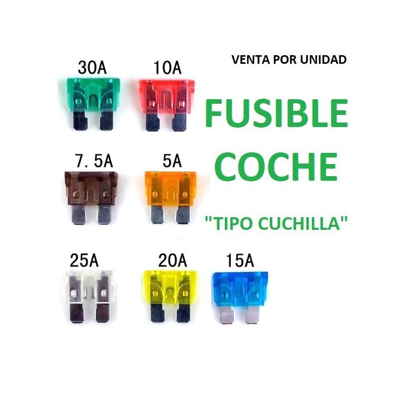 FUSIBLE ESTANDARD COCHE FURGONETA TIPO CUCHILLA