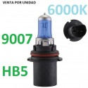 BOMBILLA HALOGENA HB5 9007 PX29T 80/100W LUZ BLANCA 6000k Efecto Xenon