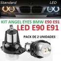 KIT LED ANGEL EYES BMW E90 E91 Serie 3