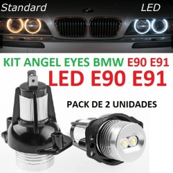 KIT LED ANGEL EYES BMW E90 E91 Serie 3