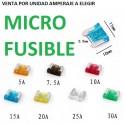 MICRO FUSIBLE COCHE FURGONETA TIPO CUCHILLA