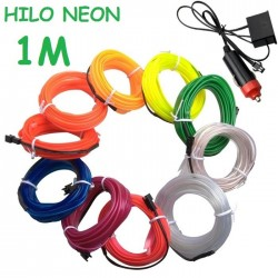 NEON 1M FLEXIBLE MECHERO COCHE