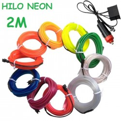 NEON 2M FLEXIBLE MECHERO COCHE