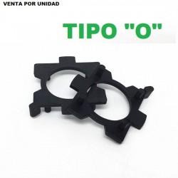 CLIP ADAPTADOR XENON Y LED SOPORTE BOMBILLA H7 TIPO O