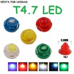 BOMBILLA LED T4.7 COB LUZ CUADRO INSTRUMENTOS