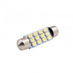 BOMBILLA C3W C5W C7W C10W 12 LED LUZ TECHO CORTESIA COCHE