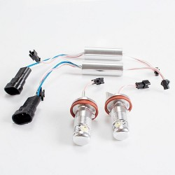 KIT 2 BOMBILLAS LED LUZ ANTI NIEBLA O OJOS DE ANGEL H8 H9 H11