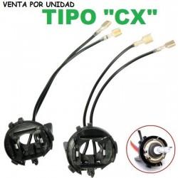 """Clip soporte base adaptador bombilla H7 Xenon (tipo """"CX"""")"""
