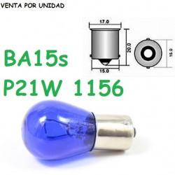 BOMBILLA S25 BA15s P21W 1156 LUZ POSICION ROJA HALOGENA