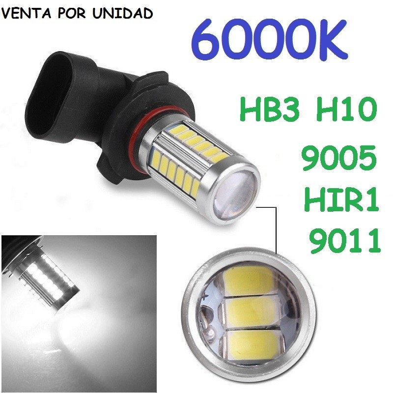 Bombilla Led HB3 HIR1 9005 9011 Luz Anti Niebla
