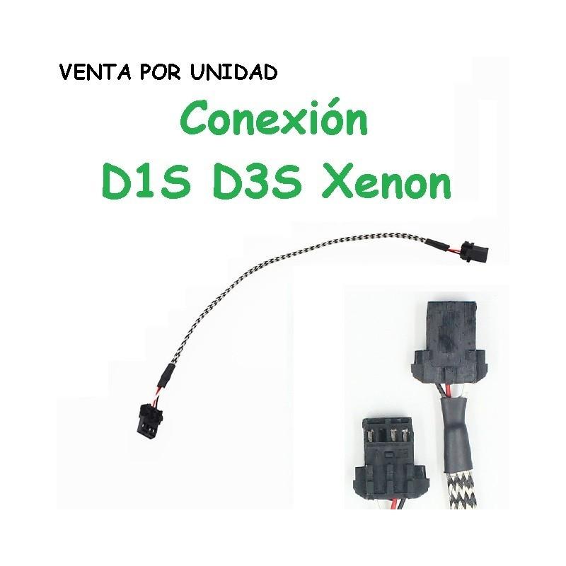Conector de Recambio Bombilla Xenon D1S D3S D1C D1R D3C D3R