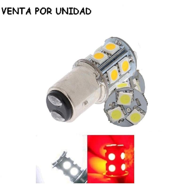 Bombilla Led S25 BAY15D P21/5W 1157 Luz Posición y Freno Diurna