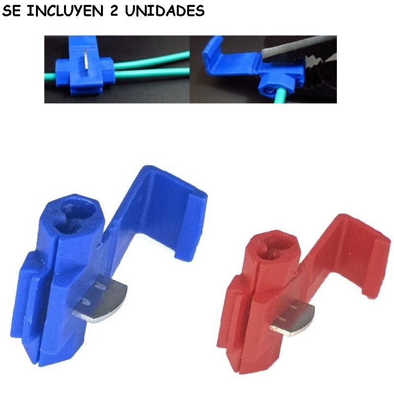 Kit de Clips para Conexión Fácil Empalmar Cables