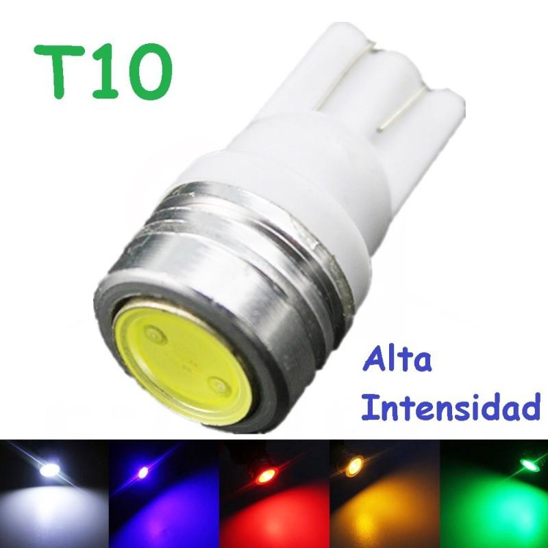 BOMBILLA LED W5W T10 100 LM LED LUZ POSICION MATRICULA CORTESIA