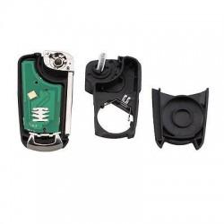 Llave Circuito Mando y Chip Transponder Opel 3 Botones Ref. O