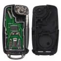 Llave Circuito Mando y Chip Transponder Seat VW Skoda Volkswagen Ref23