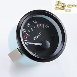 Reloj Voltaje Batería Alternador Coche Universal