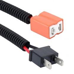 Cable Conector Cerámico Macho Hembra Bombilla H7 Estandar