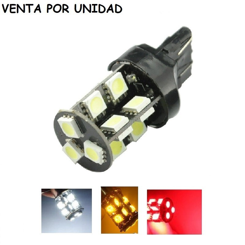 Bombilla Led T20 W21/5W 7443 7440 580 W21W Can Bus Luz 200LM