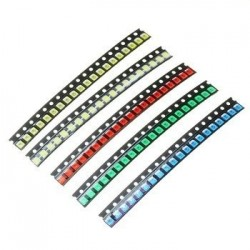SMD LED 1210 DIODO COLORES