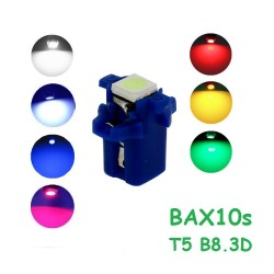 BOMBILLA T5 B8.3D BAX10S 1 SMD LED 5050