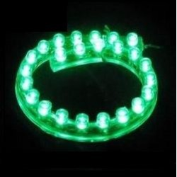 TIRA 24 LED FLEXIBLE RESISTENTE AL AGUA