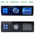 RADIO PARA COCHE FM, SD, USB, AUX IN.