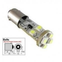 BOMBILLA BA9S CANBUS 8 SMD LED