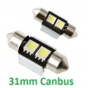 BOMBILLA LED FESTOON 31mm CON CANBUS